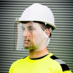 Helmet Screen – 300 Micron APET – CV14