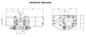 HITACHI ET-SERIES TROLLEYS