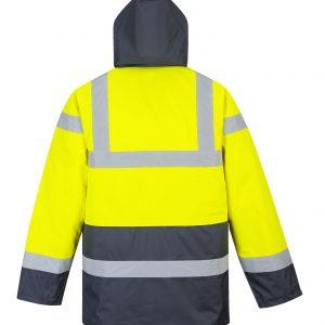 2 Tone Traffic Hood Jacket – S466